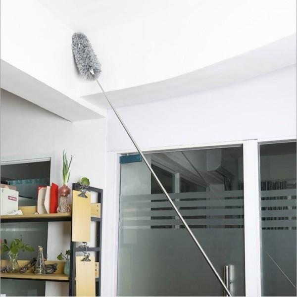 chổi quét mạng nhện - chổi quét bụi thông minh - chổi quét trần gấp gọn