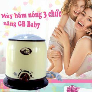 (MẪU MỚI) Máy hâm sữa và thức ăn, tiệt trùng 03 chức năng GB BABY (Sử dụng được cho bình cổ siêu rộng) (Tốt và rẻ so với Fatzbaby FB3003SL - FB3002SL - FB3012SL, Avent, Babymoov, Kenjo, Kuku, Beurer, Rozabi, Chicco, Farlin, Medela, Nuk thumbnail