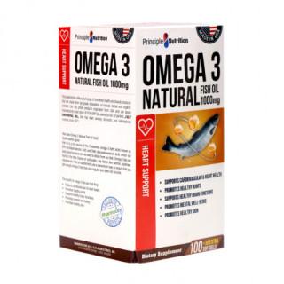 [ HÀNG MỸ ] Hộp 100 viên Omega 3 Natural Fish Oil 1000mg hỗ trợ sự phát triển của não bộ và tốt cho mắt thumbnail