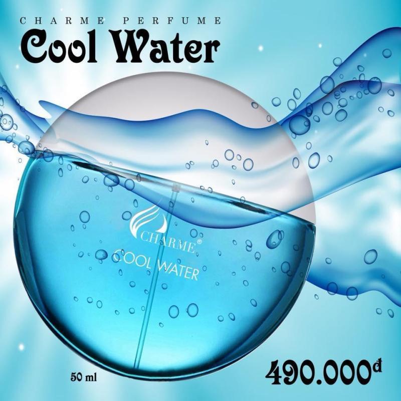 NƯỚC HOA CHAME NAM COOL WATER 50ML (TẶNG 1 ÓNG NƯỚC HOA) cao cấp