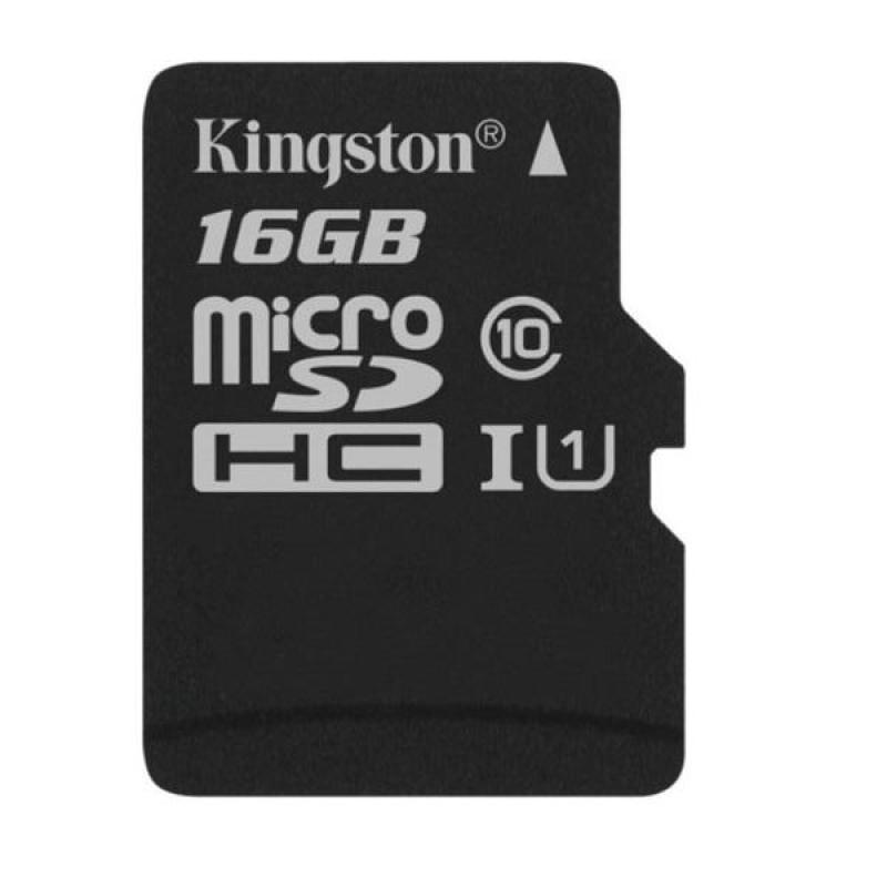 Thẻ nhớ kingston micro SD 16GB kèm Adapter