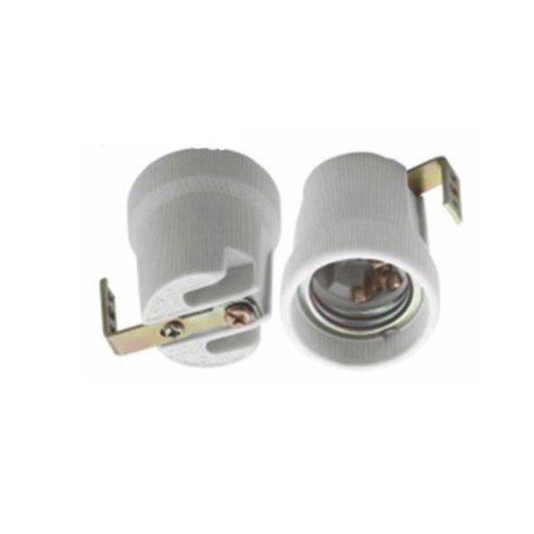 Đui đèn sứ miệng vặn E27 - Đuôi đèn chịu nhiệt chống cháy an toàn