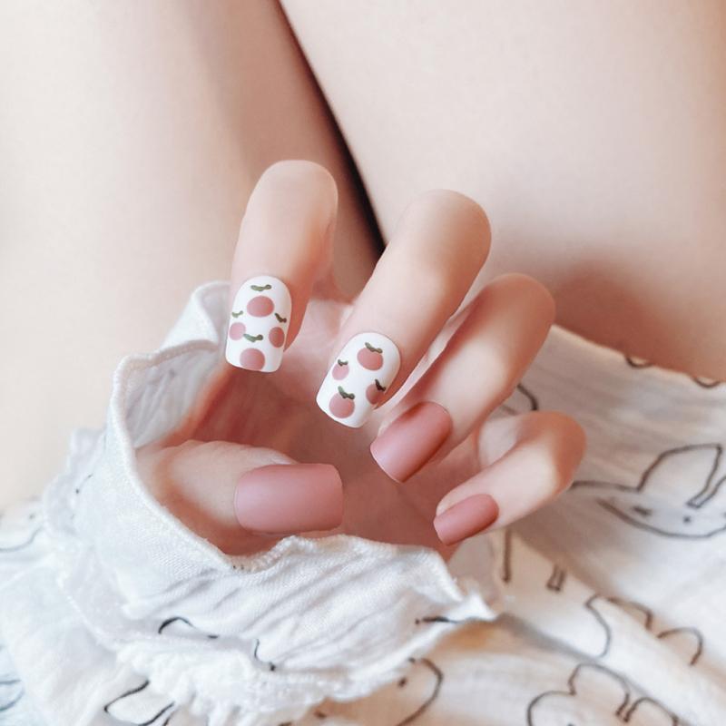 Bộ 24 móng tay giả cực xinh (kèm keo - dùng nhiều lần)- Kinakino giá rẻ