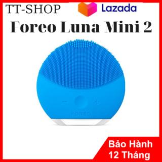 [ XẢ HÀNG SALE 50%] Máy Rửa Mặt Foreo Luna Mini 2 .Máy Rửa Mặt Massage Da Mặt Silicon Kháng Khuẩn- Làm Sạch Da Mặt Tẩy Trang Thu Nhỏ Lỗ Chân Lông Sạch Mụn Hết Nhờn Tẩy Ra Chết Phù Hợp Mọi Loại Da Mặt.Nhiều Mầu Dễ Dàng Lựa Chọn. thumbnail