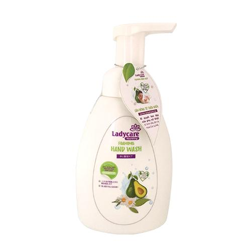 Combo 2 chai Bọt rửa và dưỡng da tay Ladycare 250ml (Dạng Bọt) cao cấp