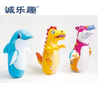 Inflatable Tumbler Boxing Educational Toys Sandbag Baby Large Boys and Girls Children012356Years Old thumbnail