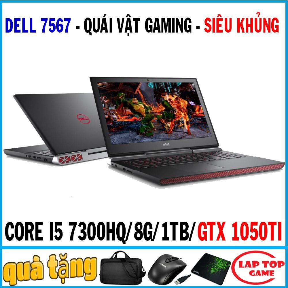 Dell Inspiron 7567 Siêu Khủng Gaming Core I5 7300HQ/ 8G/ 1TB/ VGA GTX 1050TI 4GB/ 15.6 Inch FHD 1920*1080 Tấm Nền IPS/ Dòng Máy Gaming Game / Chỉ Dành Cho Game Thủ Giá Tốt Không Nên Bỏ Qua
