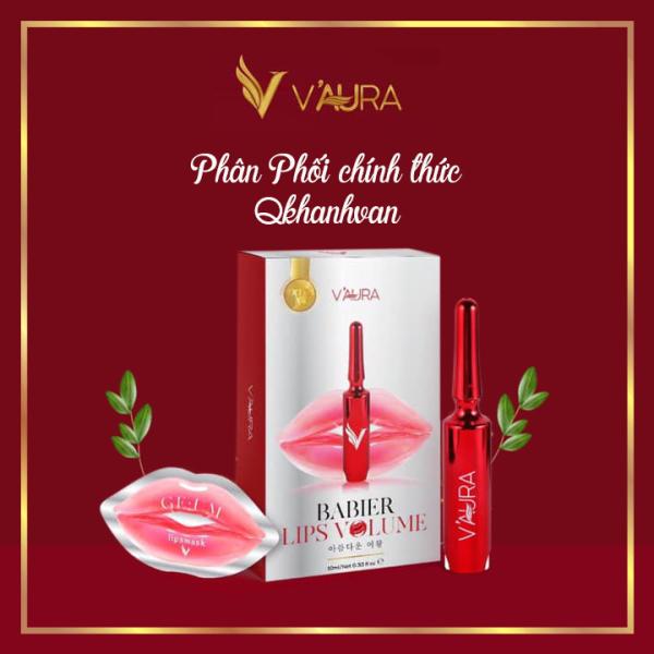 [Tặng nạ môi] [mẫu mới] Tinh Chất Cấy Màu Môi VAura, Cấy Hồng Môi Vaura