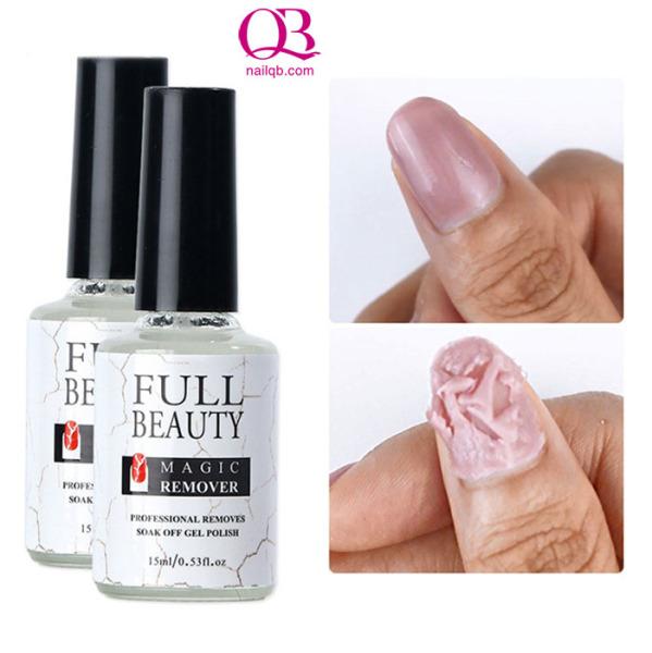 Phá gel Full Beauty dung dịch lỏng dễ tẩy gel 15ml