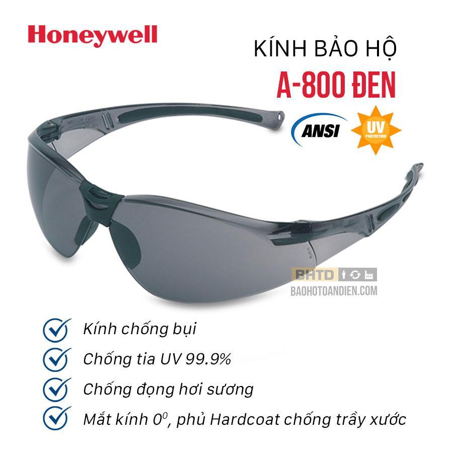 Kính chống bụi Honeywell Sperian A800 đen