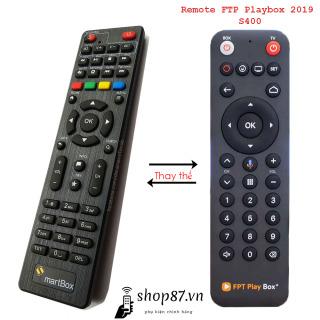 Remote thay thế điều khiển FPT Playbox 2019 S400 thumbnail
