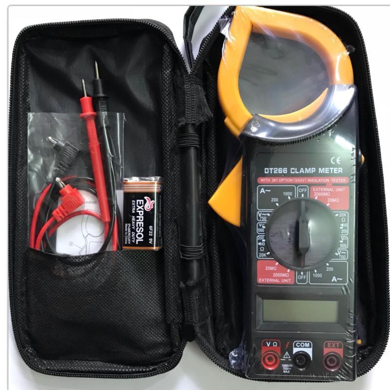 Đồng hồ kìm đo dòng điện DT266