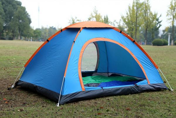 Lều Cắm Trại Du Lịch Dã Ngoại Dành Cho 2-3 Người Chất Liệu Chống Thấm Chống Muỗi Côn Trùng Với Giá Sốc