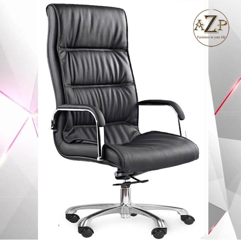 Ghế Văn Phòng Dành Cho Sếp PVC Cao Cấp, Lưng Cao AZP-204A - Hàng Nhập Khẩu 100% giá rẻ