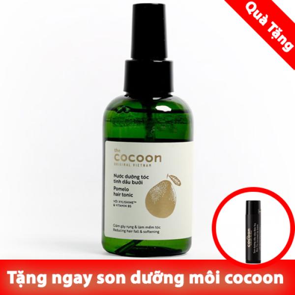 Nước dưỡng tóc tinh dầu bưởi (Pomelo hair tonic) 140ml tặng son dưỡng môi