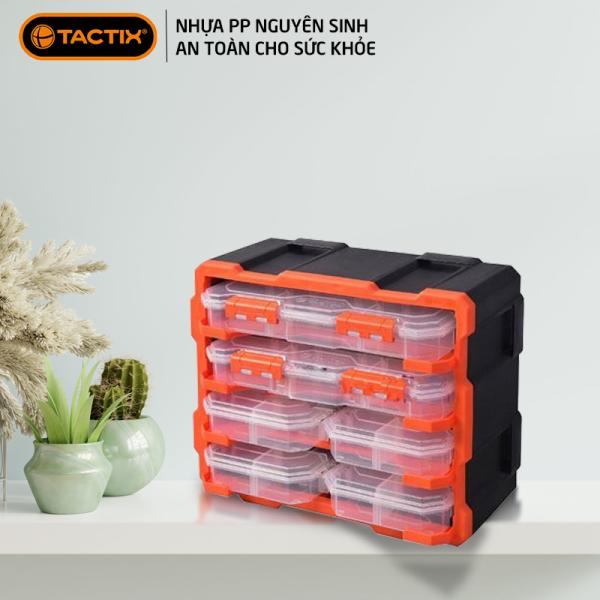 Hộp đựng linh kiện TACTIX Tủ đựng linh kiện ốc vít, phụ kiện điện thoại, đồ chơi le go, 320672