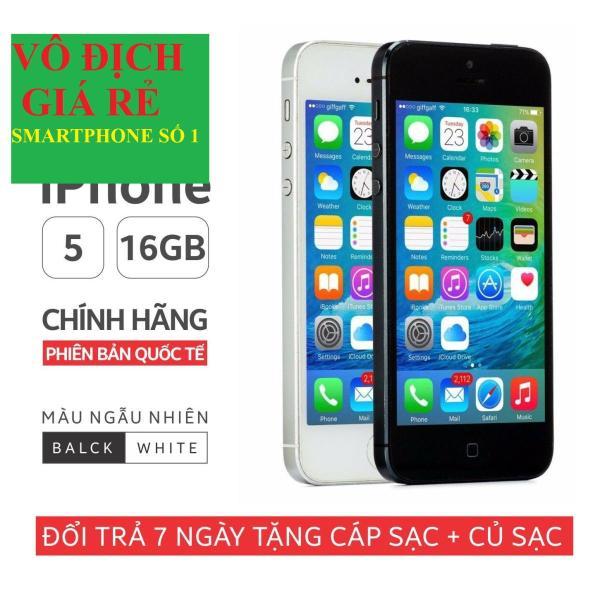 đện thoại Iphone5 16G Chính Hãng - bản Quốc tế