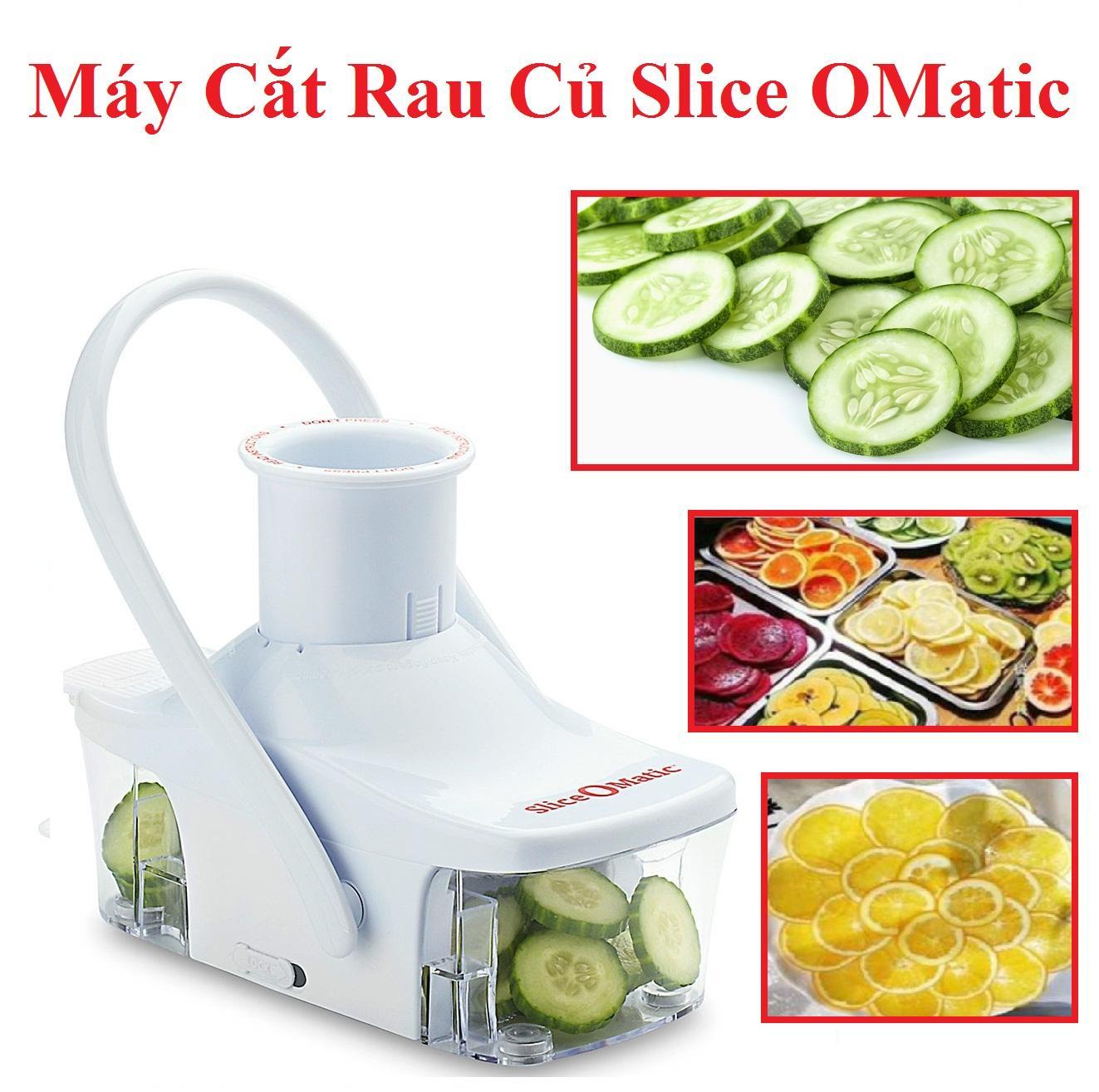 Máy cắt rau củ Slice OMatic cho bạn dễ dàng cắt rau củ, nhanh chóng chuẩn bị cho bữa ăn gia đình.