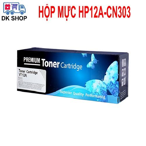 Hộp Mực 12A-CN303 (Premium) - Dùng Cho Máy In HP (1010-1020-3015..) Canon (2900-3000...)