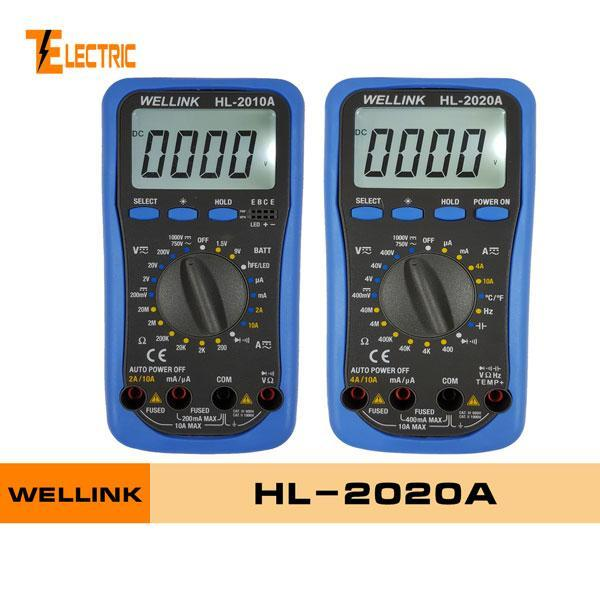 Wellink HL-2020A VOM Đồng hồ vạn năng đo điện tử