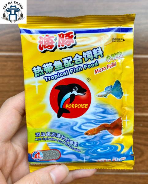 Thức Ăn Cá Bảy Màu Propoise Tropical Fish Food 15Gr -Cám Cá Giúp Tăng Màu Tăng Màu, Giá Rẻ