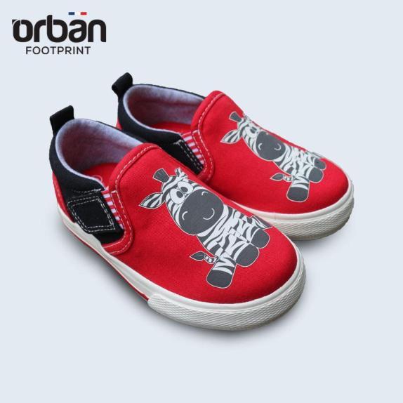 Giày Slipon bé trai Urban UB1902 đỏ giá rẻ