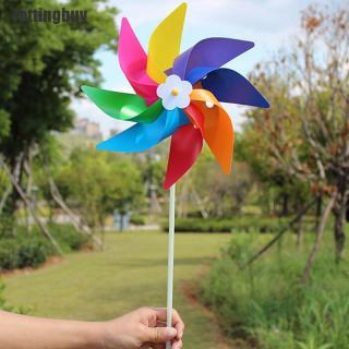 Jettingbuy Garden Yard Ngoài Trời Tiệc Cối Xay Gió Chong Chóng Trang Trí Trang Trí Đồ Chơi Trẻ Em thumbnail