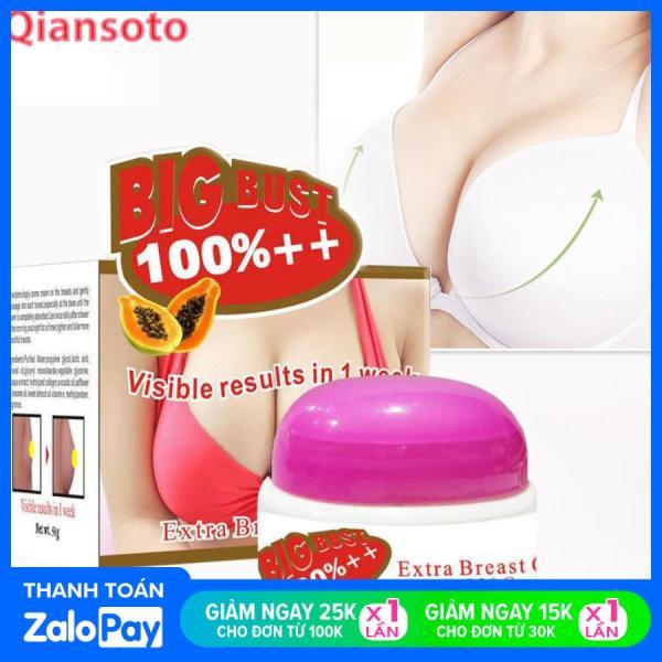 QIANSOTO Kem Nở Ngực Tăng Ngực Làm Săn Chắc Tăng Vòng 1 Hiệu Quả Enhancement Breast Cream Upsize