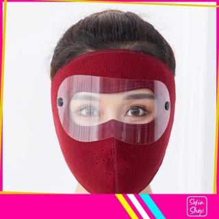 Khẩu Trang Ninja Có Kính Chống Nắng Chống Bụi Nam Nữ Vải Nỉ Che Kín Mặt NCK24 - Khau Trang Ninja Co Kinh Chong Bui Chong Nang Chong Ret Nam Nu Vai Ni Che Kin Mat - ShopSofia thumbnail