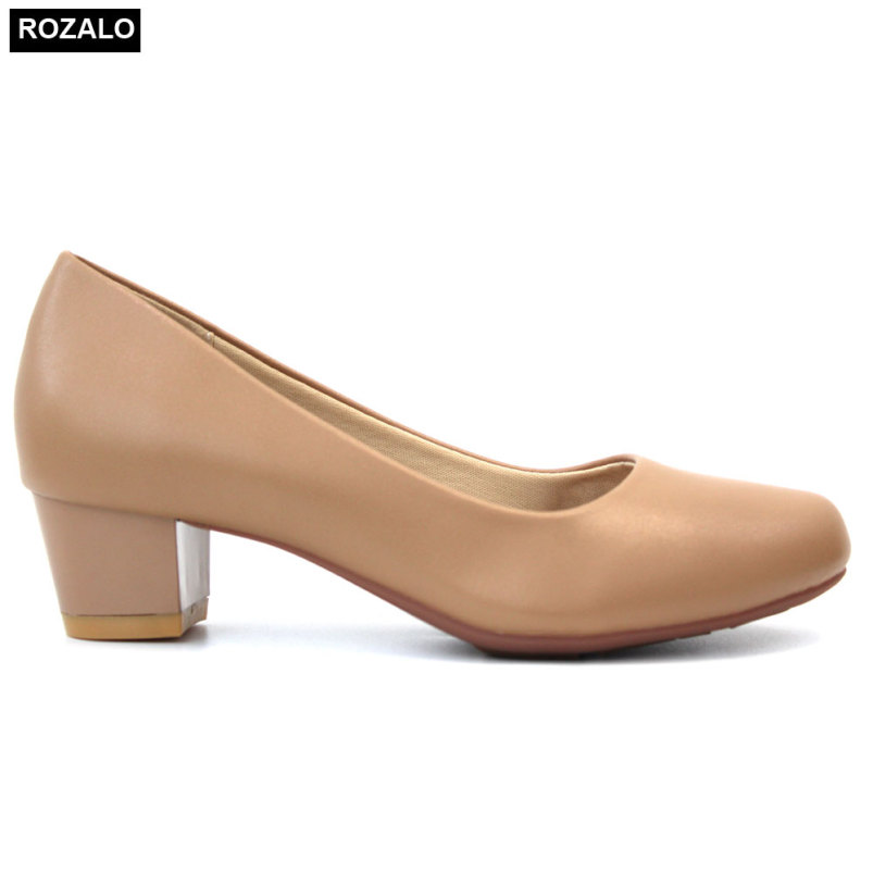 Giày nữ cao gót 3P da mờ Rozalo R5623 giá rẻ