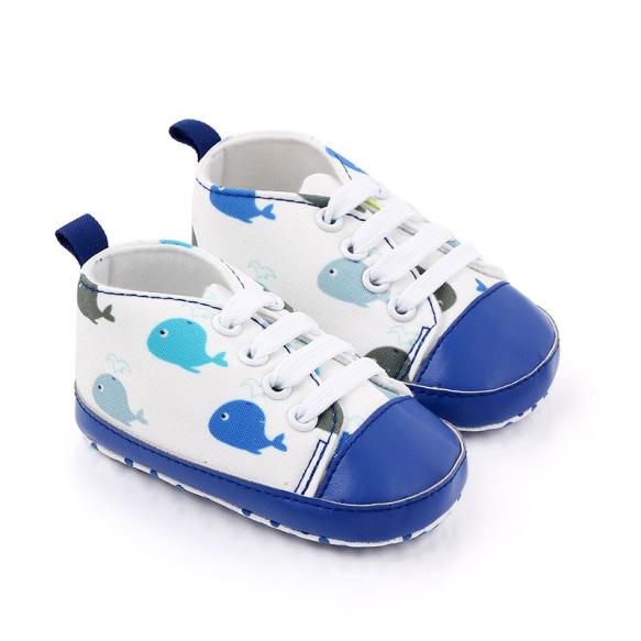 Đôi giày đế mềm chống trượt hoạ tiết hoạt hình cho trẻ sơ sinh - INTL giá rẻ