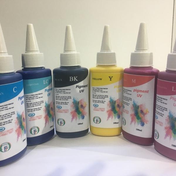 Bảng giá Bộ 6 màu mực dầu - dùng cho dòng máy in Epson Phong Vũ