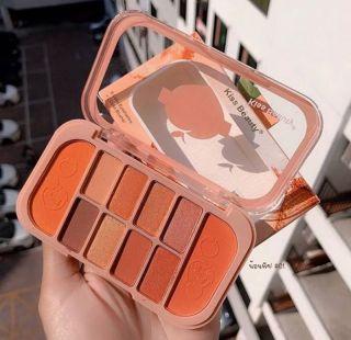Bảng phấn mắt má hồng Kiss Beauty Đào 10 ô kèm má hồng (8 màu mắt + 2 màu má)siêu hot thumbnail
