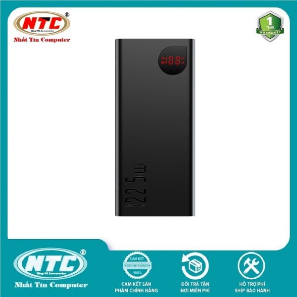 Pin sạc dự phòng Baseus Adaman Metal Digital Display 20000mAh Quick Charge 22.5W (QC3.0/ PD3.0/ SCP/ AFC) - Hãng phân phối chính thức - Nhất Tín Computer