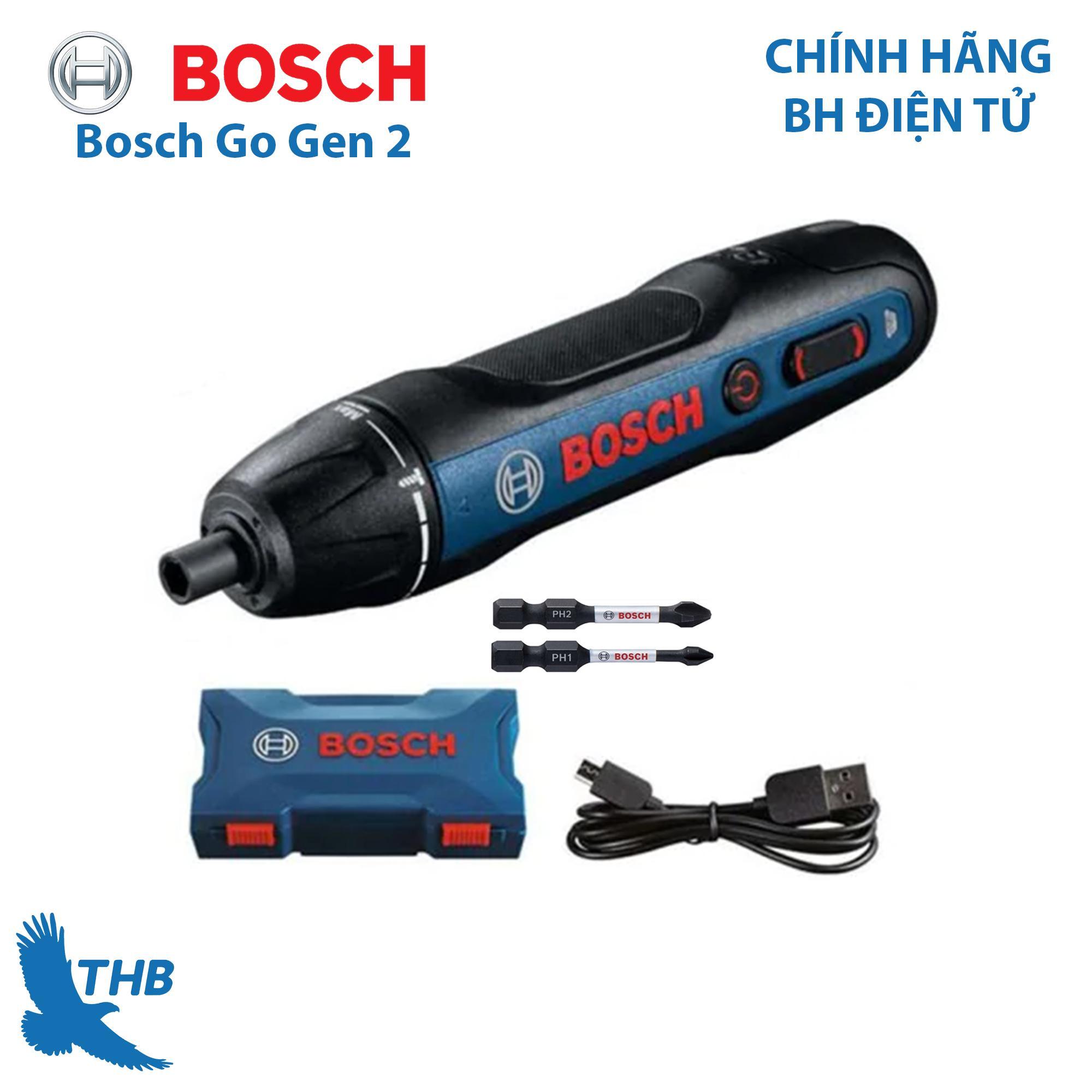Máy vặn vít dùng pin Bosch Go Gen 2 - cải tiến thế hệ mới khắc phục nh.ược đ.iểm c.ũ