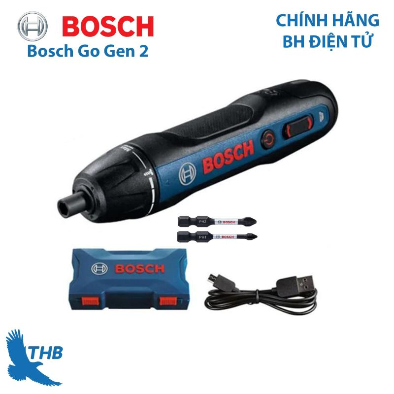 Máy vặn vít dùng pin Bosch Go Gen 2 - cải tiến thế hệ mới