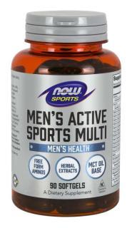 TP Bảo Vệ Sức Khỏe Bổ Sung Các Vitamin và Khoáng Chất Thiết Yếu Dành Cho Nam Giới Chơi Thể Thao NOW SPORTS - MEN S ACTIVE SPORT MULTI (90 Viên nang mềm) thumbnail