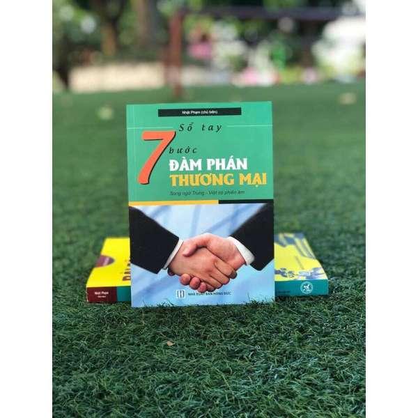 Mua Sổ tay 7 bước đàm phán thương mại (Trung – Pinyin – Việt) + quà tặng