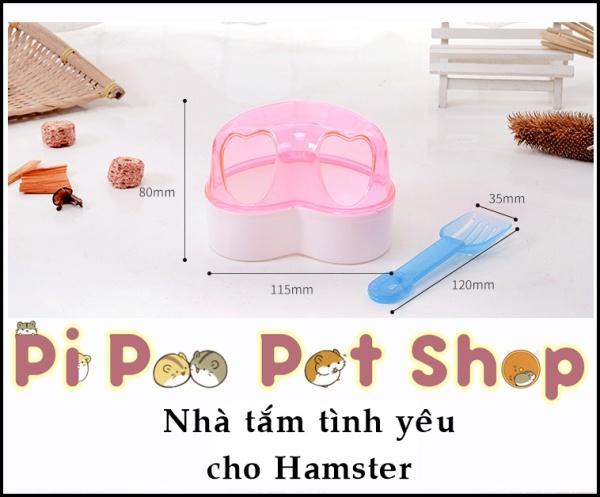 Nhà tắm tình yêu cho Hamster