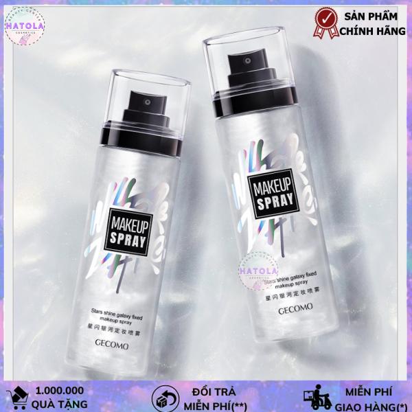 Xịt khoá lớp makeup trang điểm Make-Up Fixer Spray, Xịt khoáng giữ lớp trang điểm dưỡng ẩm bắt sáng 100ml an toàn dành cho cả nam và nữ- XK01