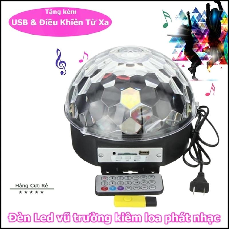Loa vũ trường có remote điều khiển + Tặng usb nhạc - Loa 2in1 kiêm đèn led trang trí đổi màu