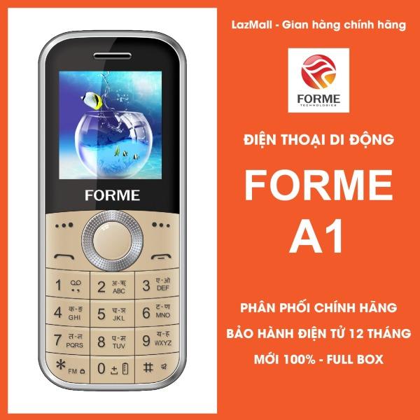 Điện thoại Forme A1, siêu nhỏ gọn, đèn led 7 màu theo nhạc - Phân phối chính hãng