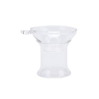 1x bộ lọc trà thủy tinh có tay cầm, cho lá lỏng lẻo dụng cụ pha trà rây lọc trà - hình 4