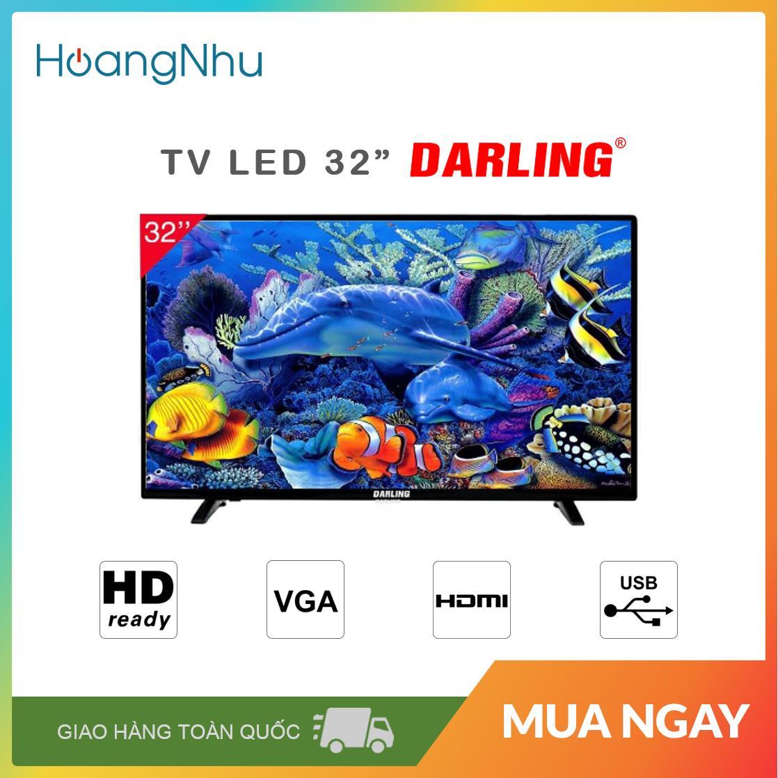 Bảng giá TV LED Darling 32 inch Model 32HD957 (HD Ready) - Bảo hành toàn quốc 2 năm
