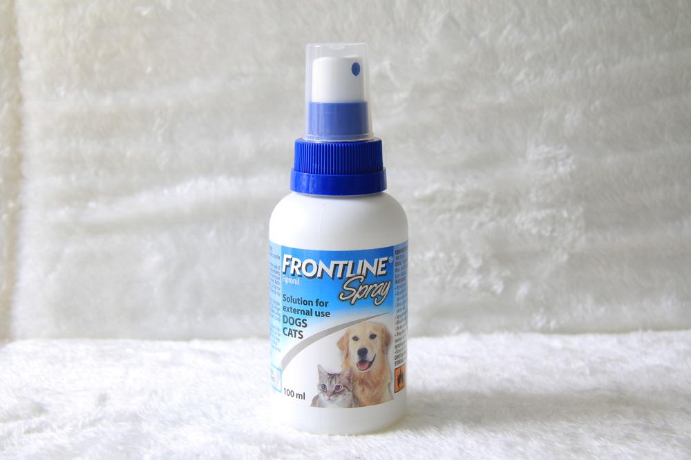 Dung Dịch Xịt Ve Rận, Bọ Chét Chó Mèo Frontline Spray - Chai Xịt 100ml Đang Có Khuyến Mãi