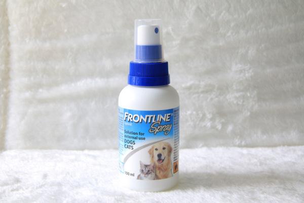 Dung dịch xịt ve rận, bọ chét chó mèo Frontline Spray - chai xịt 100ml