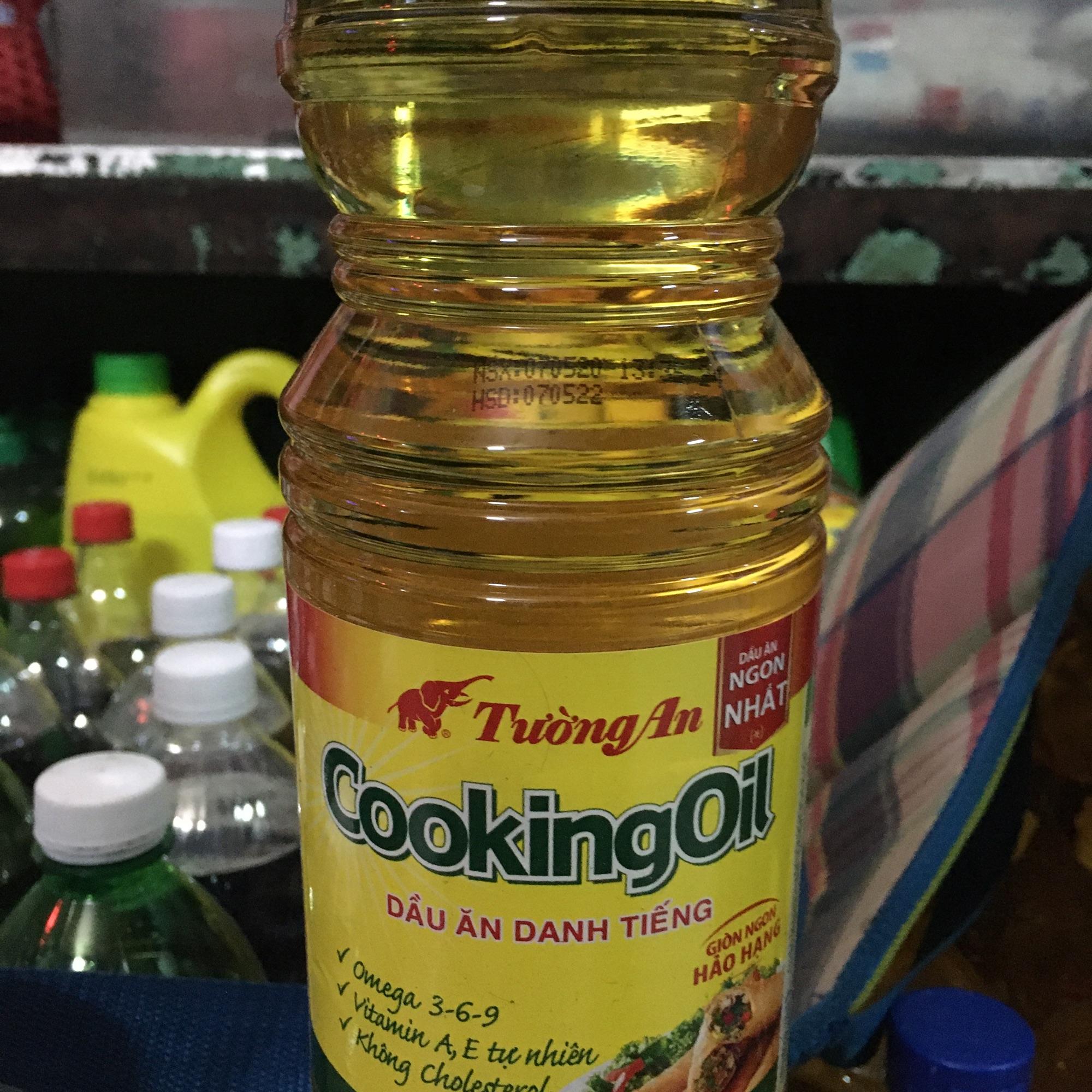 dầu ăn tường an 1 lít/ chai