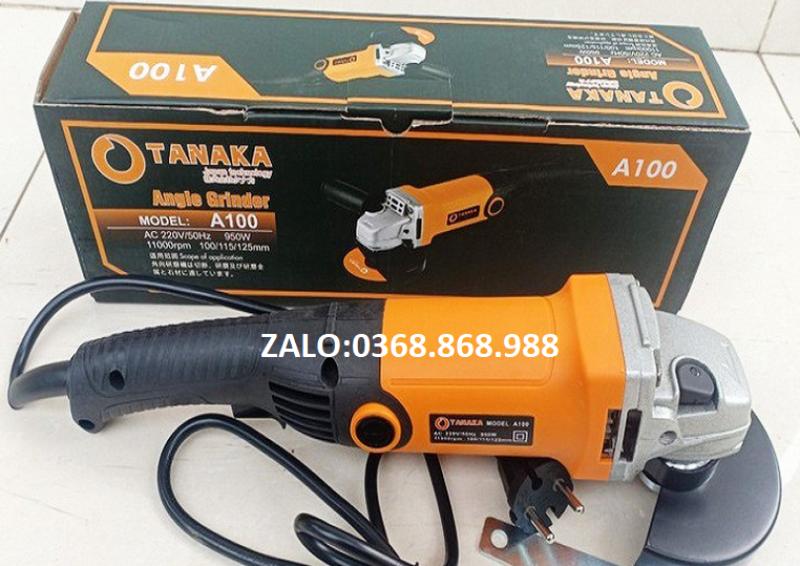 Máy mài góc-máy mài TANAKA 950W  - máy cắt,máy mài cầm tay