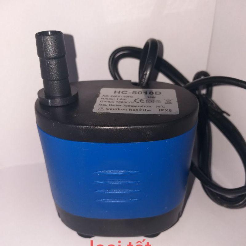 Bơm nước 18w quạt hơi nước (tốt)