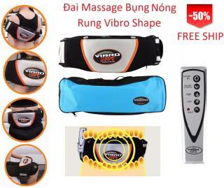 [HCM]Đai massage giảm mỡ bụng vibro Đai massage làm nóng chế độ rung đa năng Đai massage giảm béo thumbnail